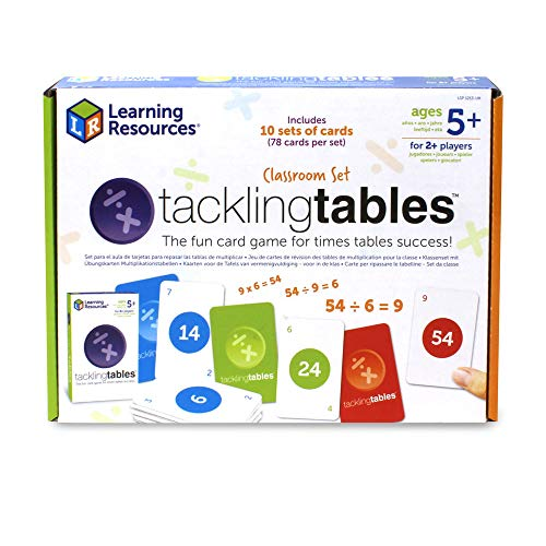 Learning Resources- Set para el Aula para Practicar Las Tablas de multiplicar (LSP1213-UK)