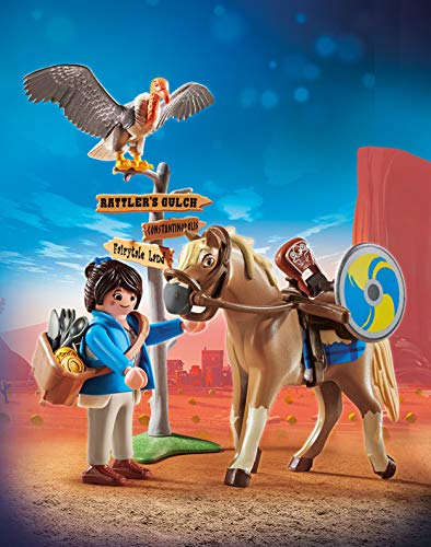 PLAYMOBIL: THE MOVIE Marla con Caballo, a Partir de 5 Años (70072)