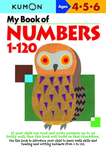 My Book of Numbers, 1-120 (Kumon's Practice Books)
