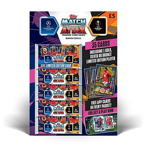 UCL Match Attax Multipacks (6 Sobres)