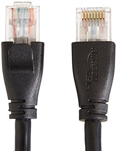 AmazonBasics - Cable de red Ethernet con conectores RJ45 (Cat. 6, 1000 Mbit/s, 1,5 m)