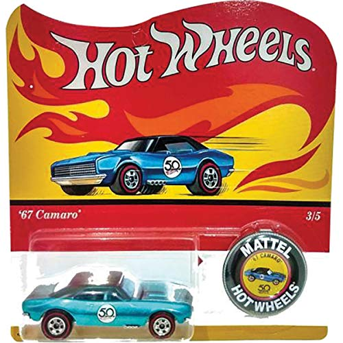 Hot-Wheels Redline Replica 50 Aniversario Conjunto de 5 2018