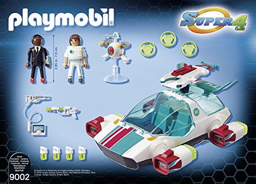 Playmobil Super 4 Super 4 Playset (9002)