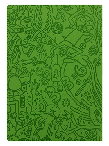 "Rick and Morty SR72519 A5 - Cuaderno de notas ""Portal Dash Flexi-Cover"""