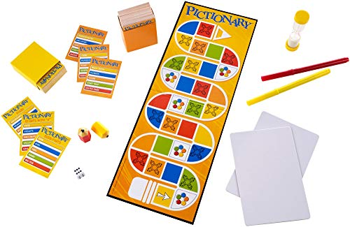 Mattel Games- Pictionary Disney juegos de mesa, Multicolor, (DKD51)
