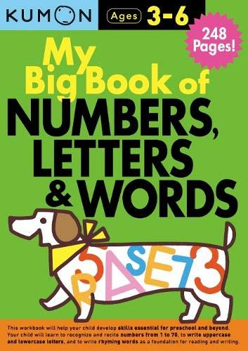 My Big Book of Numbers, Letters and Words Bind Up (Kumon Workbooks)