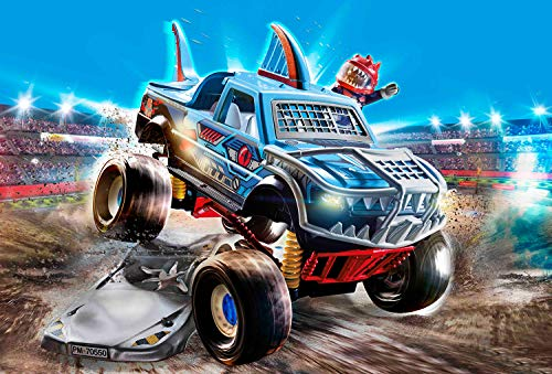 Playmobil - Juguete Stuntshow Monster Truck Shark (70550)
