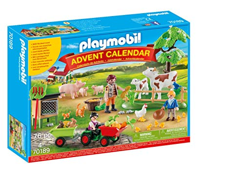 PLAYMOBIL- Calendario de Adviento Granja (70189)