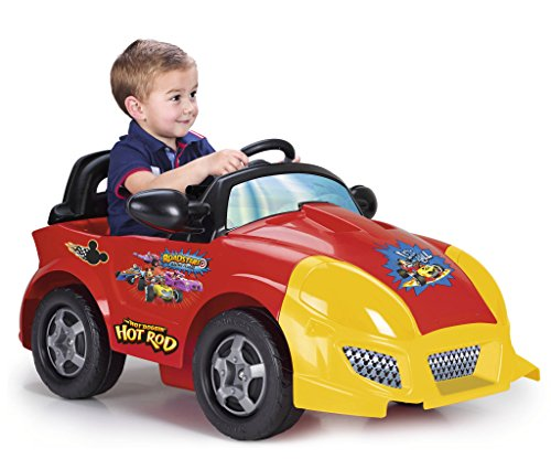 FEBER – Coche eléctrico infantil Mickey (Famosa 800010941)