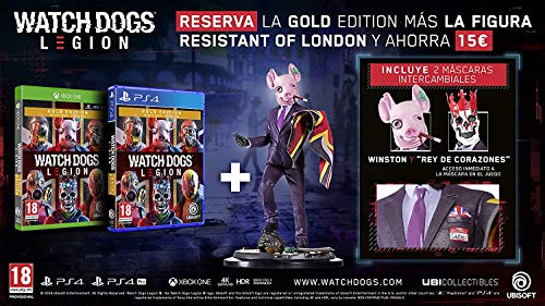 Watch Dogs Legion Gold PS5