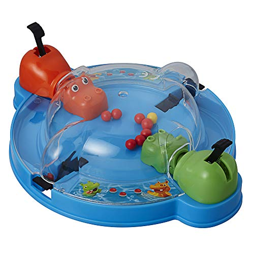 Hasbro Gaming Elefun & Friends Hungry Hipopos Grab & Go Juego