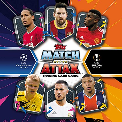 UCL Match Attax Latas Medianas T.20/21