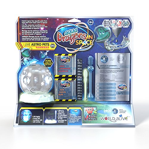 Aqua Dragons- Espacial Juguete Educativo, Multicolor (World Alive 6002)