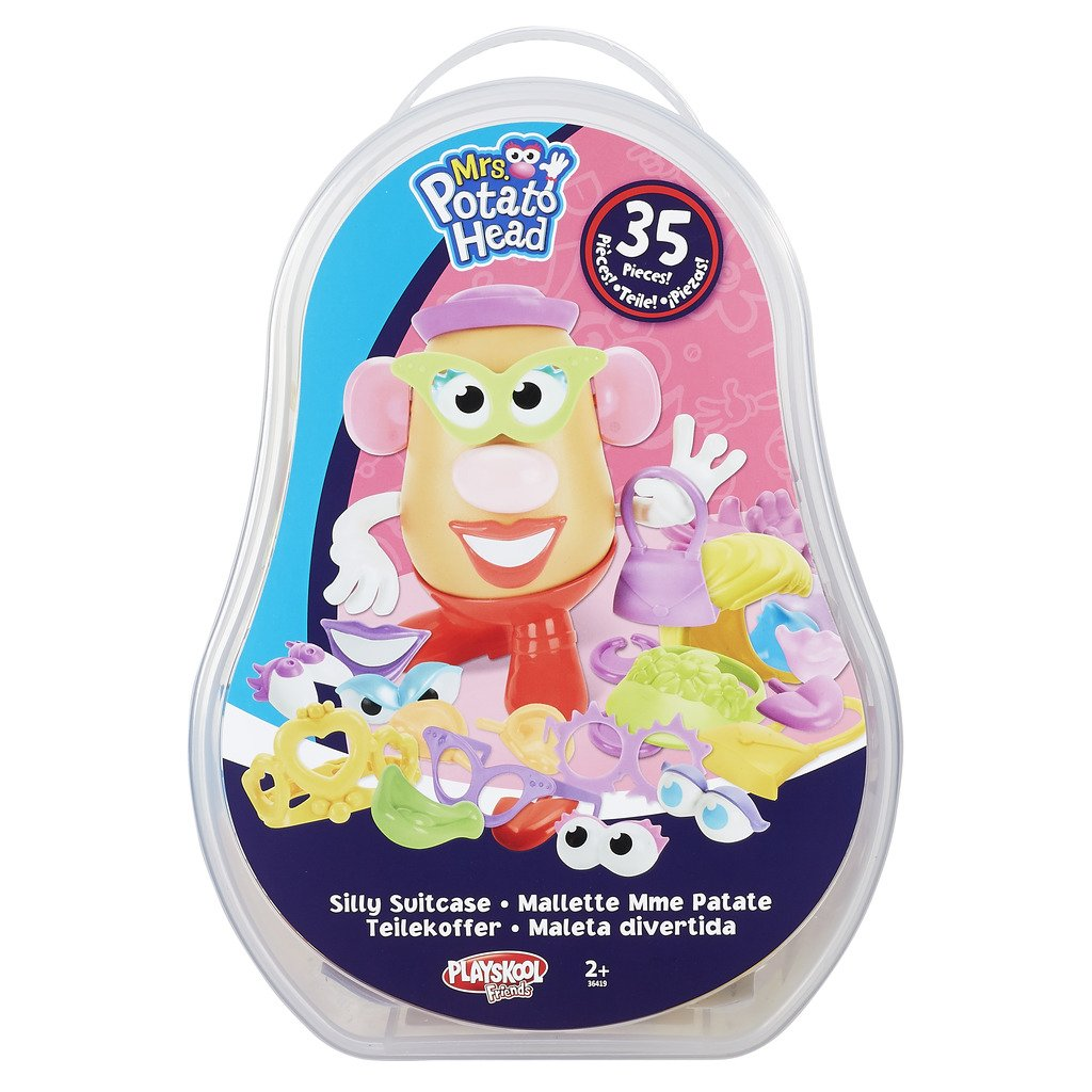 Pla MPH 36404EU6 Mr. & Mrs. Potato Head Silly Maleta, Modelos Surtidos