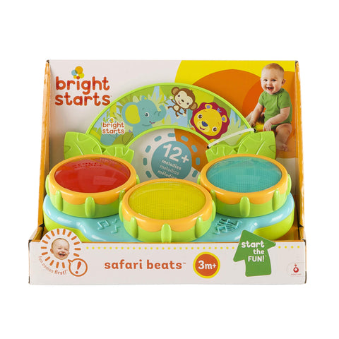 Image of Bright Starts - Safari Beats, Juguete Musical (KidsII 52269)