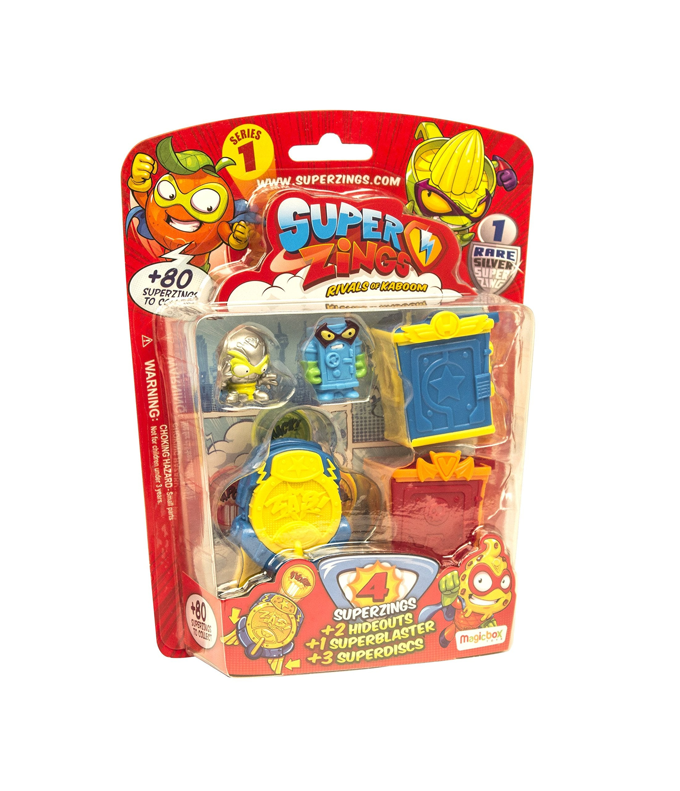 SUPERZINGS- Rivals of Kaboom Blíster Hideout, Color Surtidos (Magic Box INT Toys SZ1P0600)