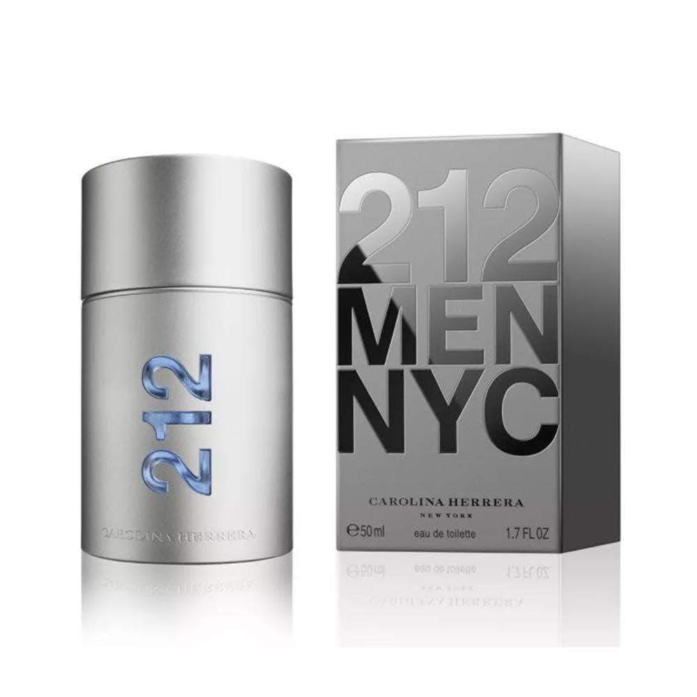 Amazon Carolina Herrera 212 Men Agua de Tocador Vaporizador - 50 ml