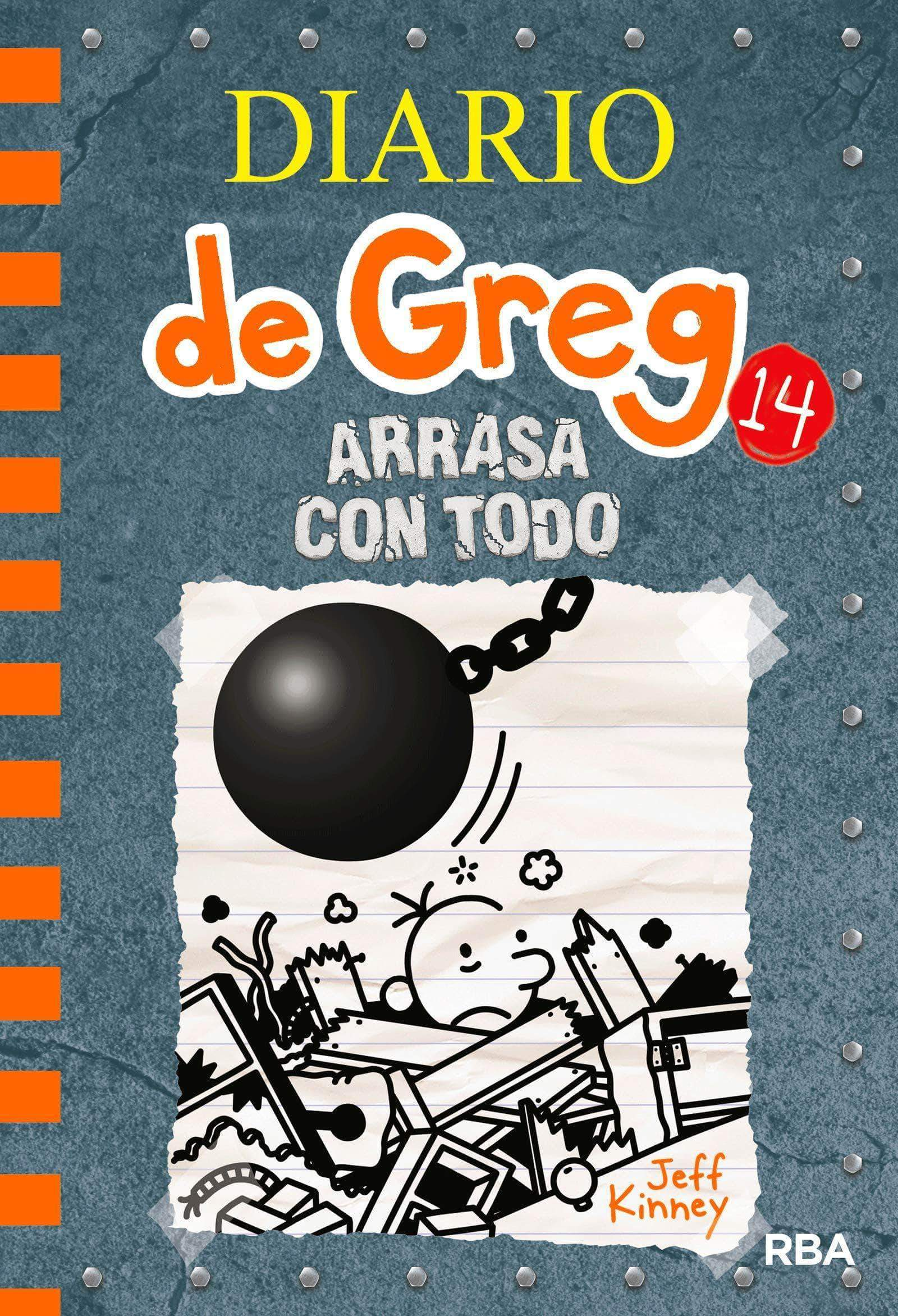 Amazon Diario de Greg 14. Arrasa con todo