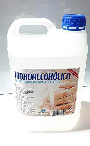 Amazon GEL HIDROALCOHOLICO ANTISEPTICO 5 LITROS