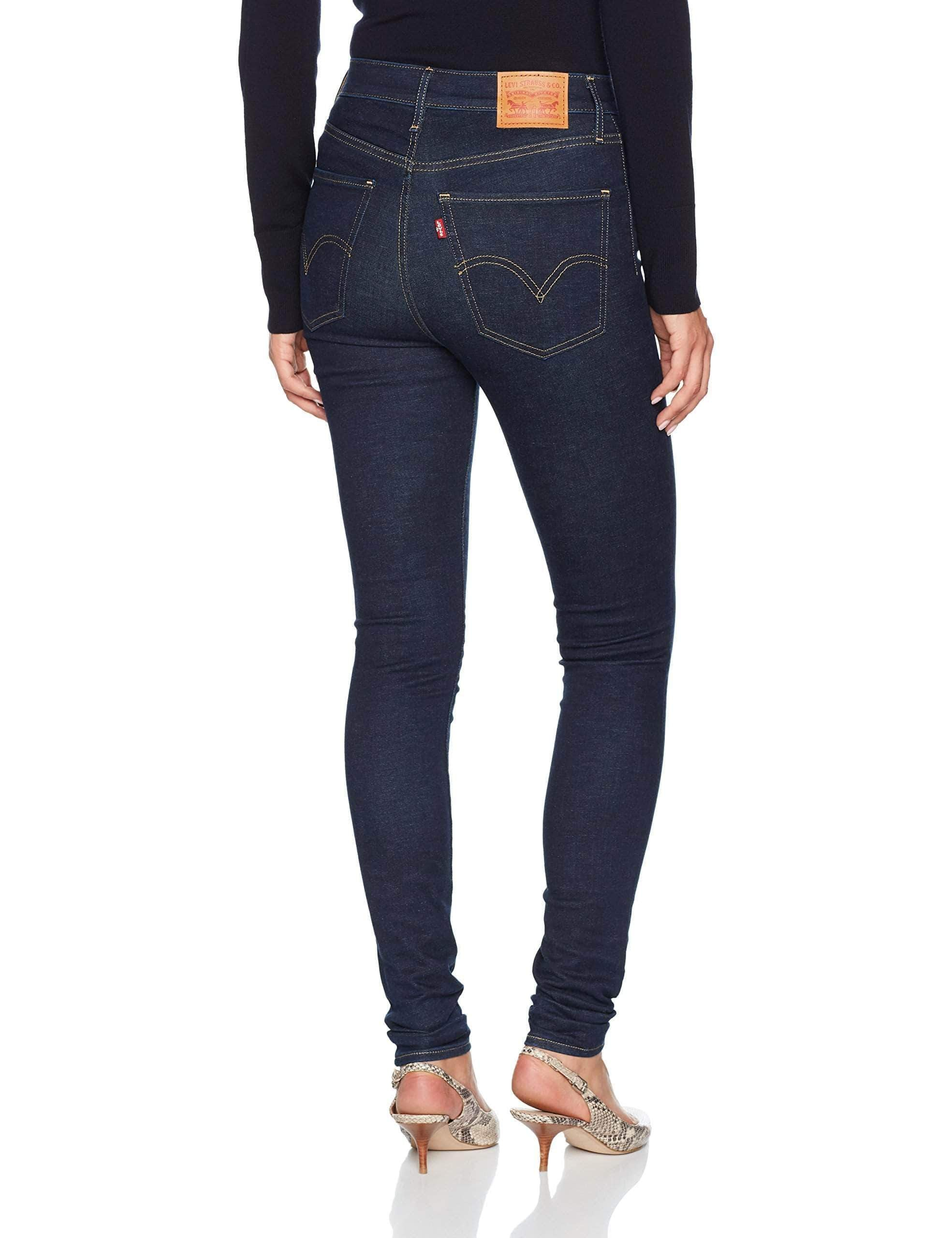 Amazon Levi's Mile Super Skinny Vaqueros, High Society, 23W / 30L para Mujer