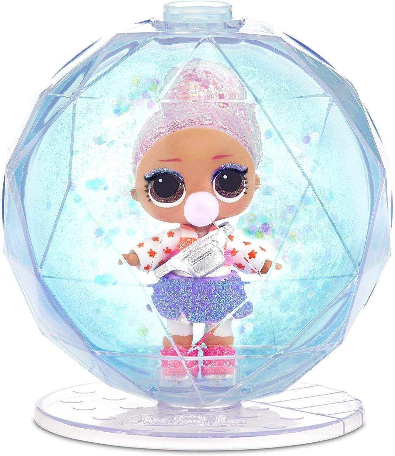 Amazon LOL Surprise 561606E7C Globe Glitter Winter Disco, 8 sorpresas