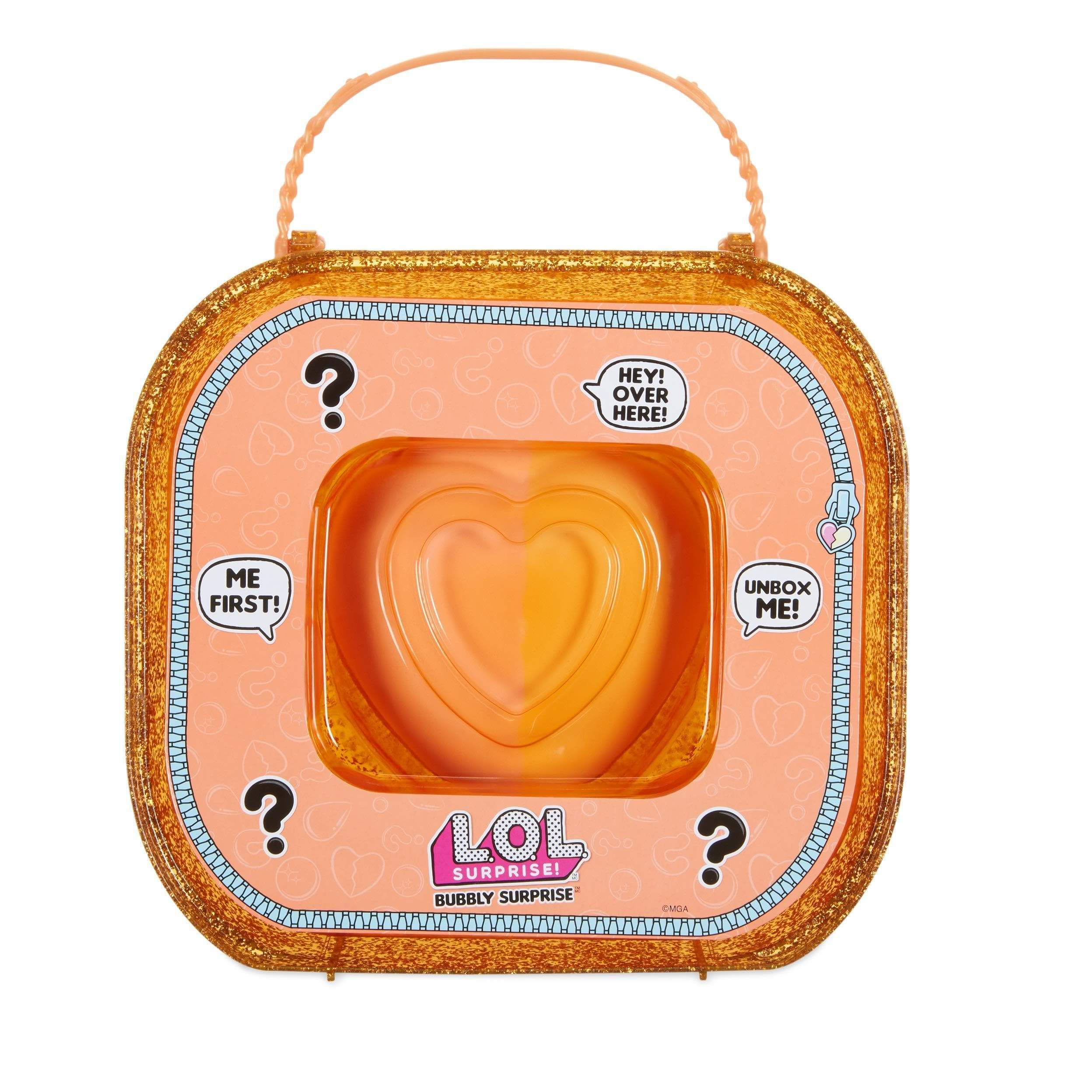 AmazonMGA Entertainment L.O.L. Surprise! Bubbly Surprise Orange - Muñecas (Multicolor, Femenino, Chica, Mascota de muñeca) - mamyka- moda infantil
