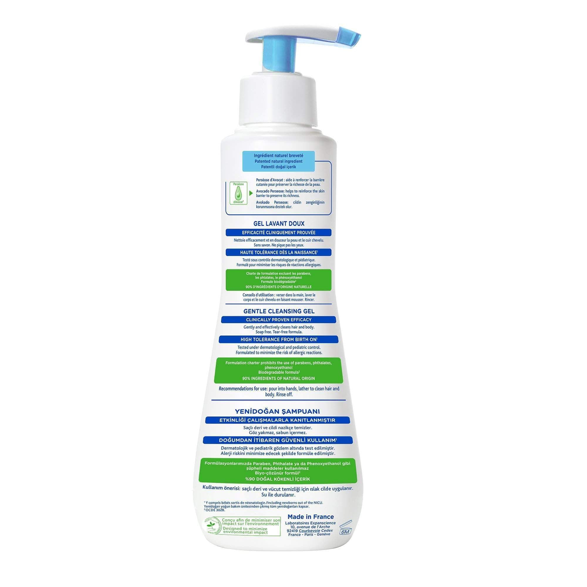 Amazon Mustela - Gel de limpieza suave, 500 ml