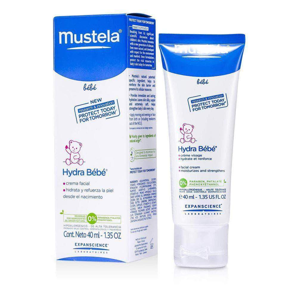 Amazon Mustela Hydra Bebe Crema Diurna Facial - 40 ml