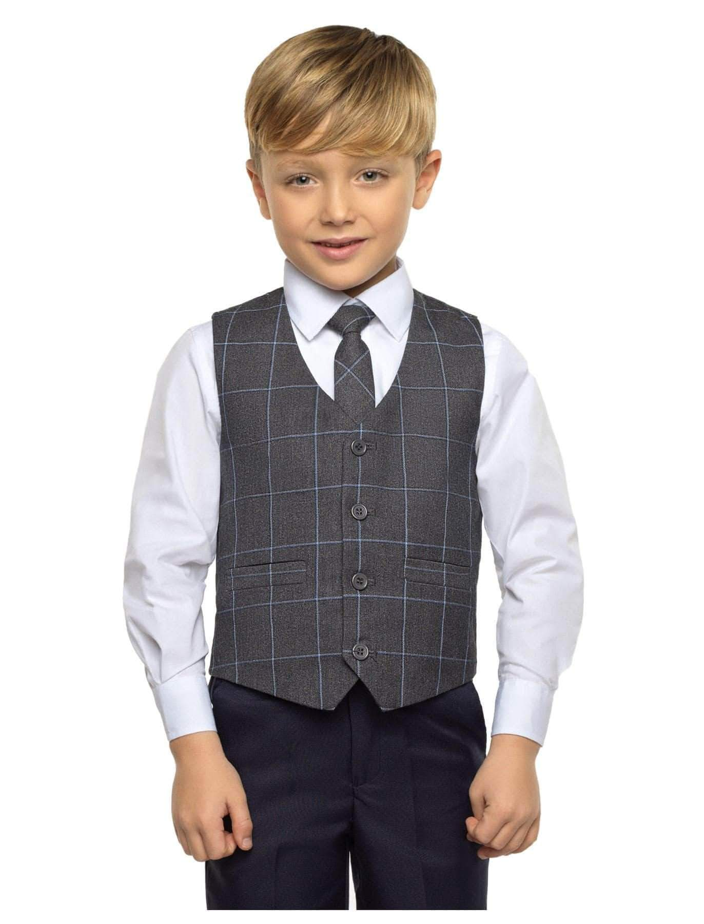 Amazon Paisley of London - Traje - para niño Azul Azul Marino 14-15 Años