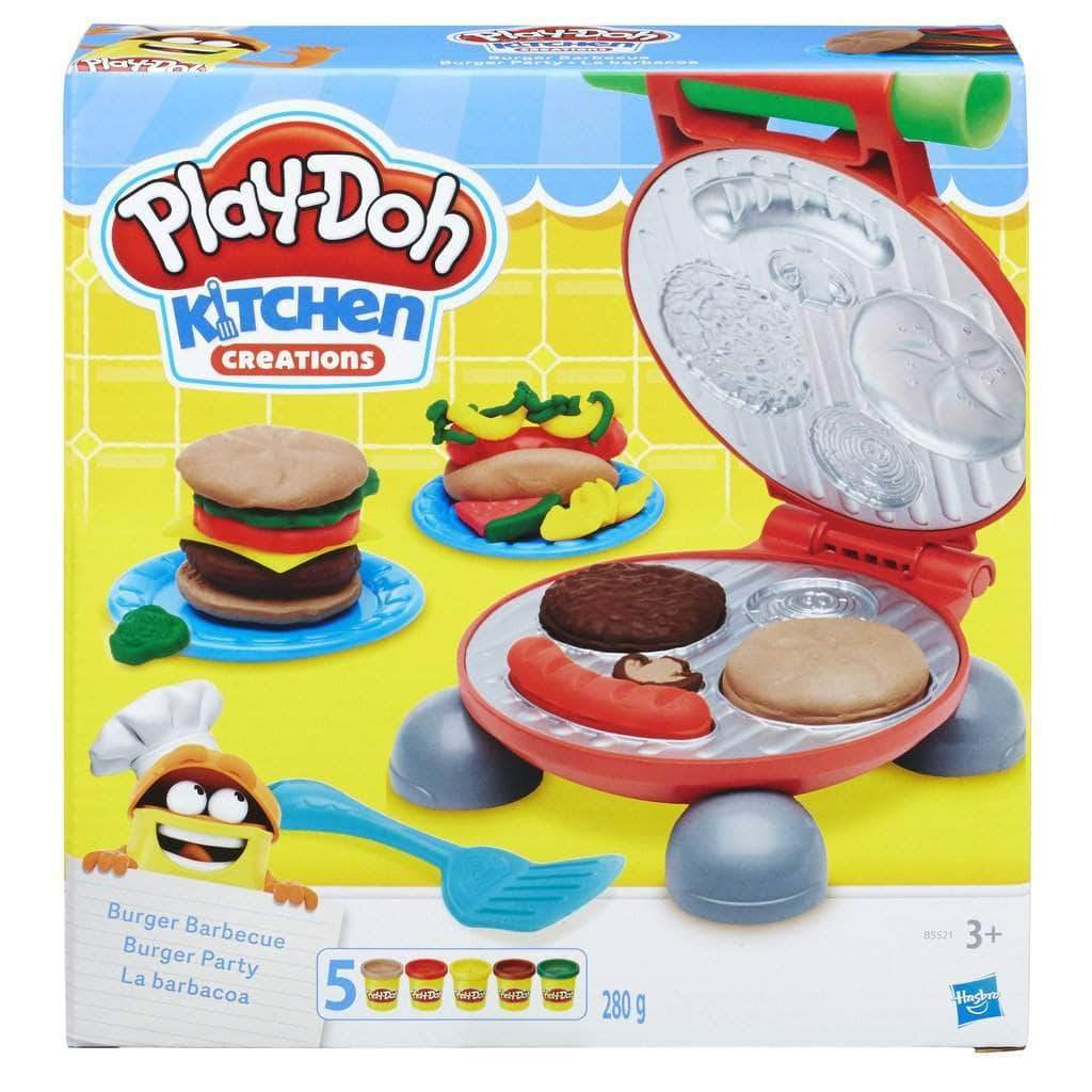 Amazon Play-Doh-B5521EU6 La Barbacoa, 21 x 20 cm (Hasbro 0816B5521EU6)