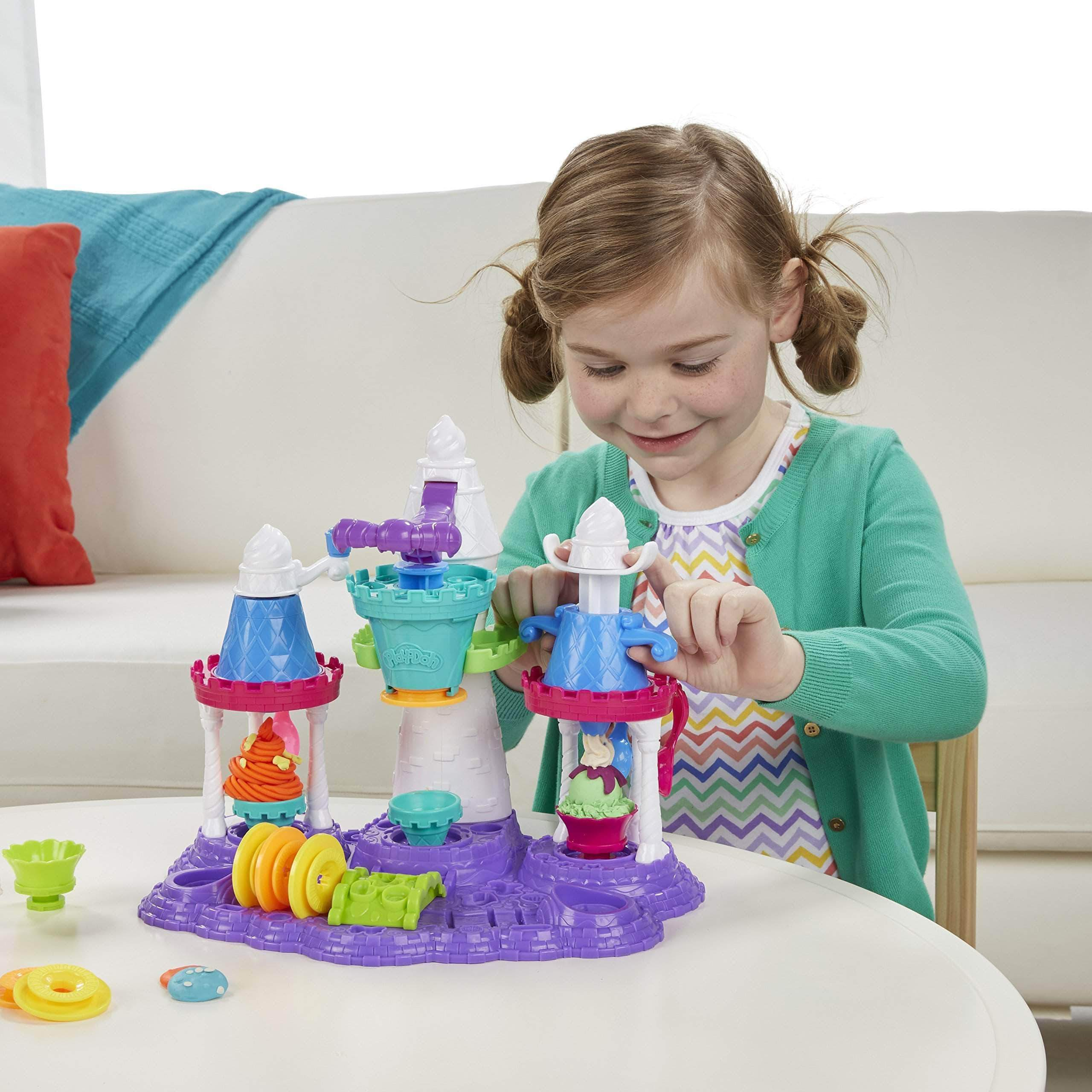 Amazon Play-Doh - Castillo de Helados (Hasbro B5523EU4)