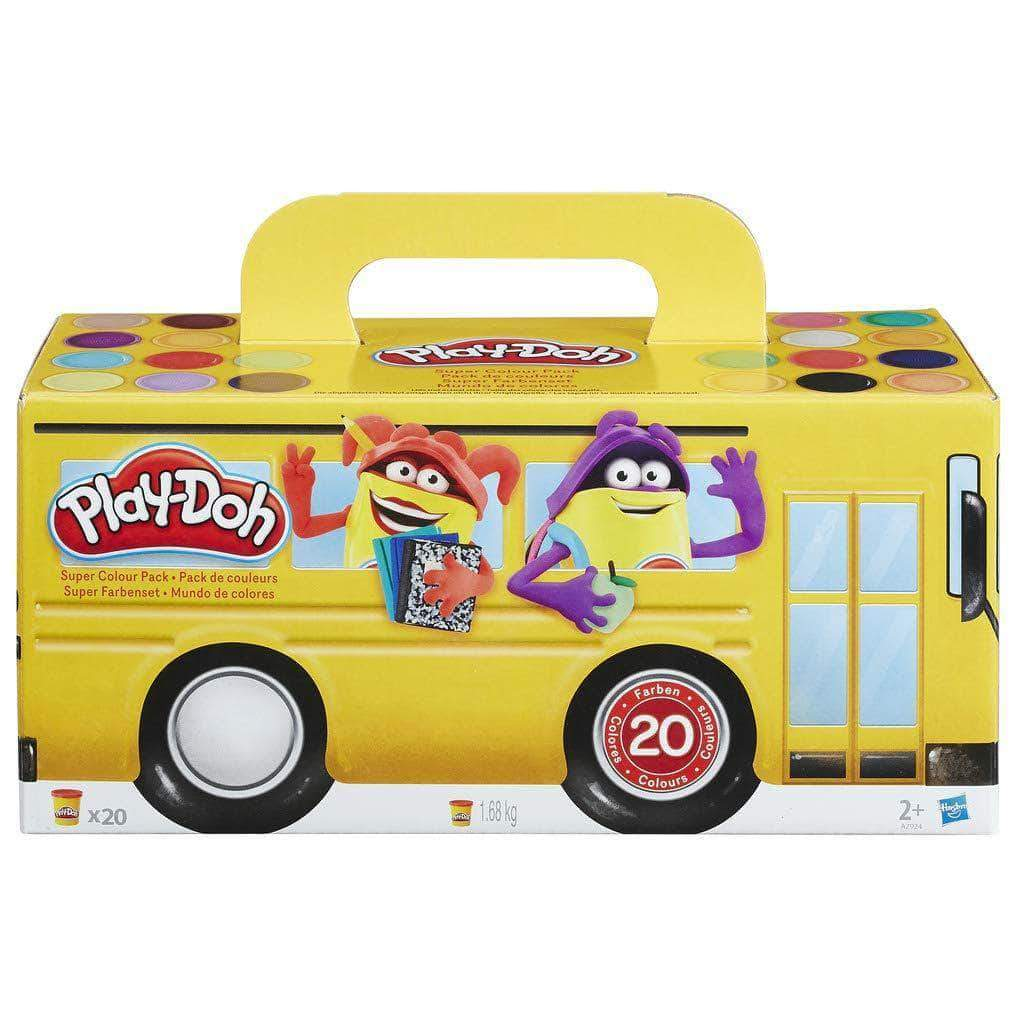 Amazon Play-Doh - Pack 20 botes (Hasbro A7924EU6)