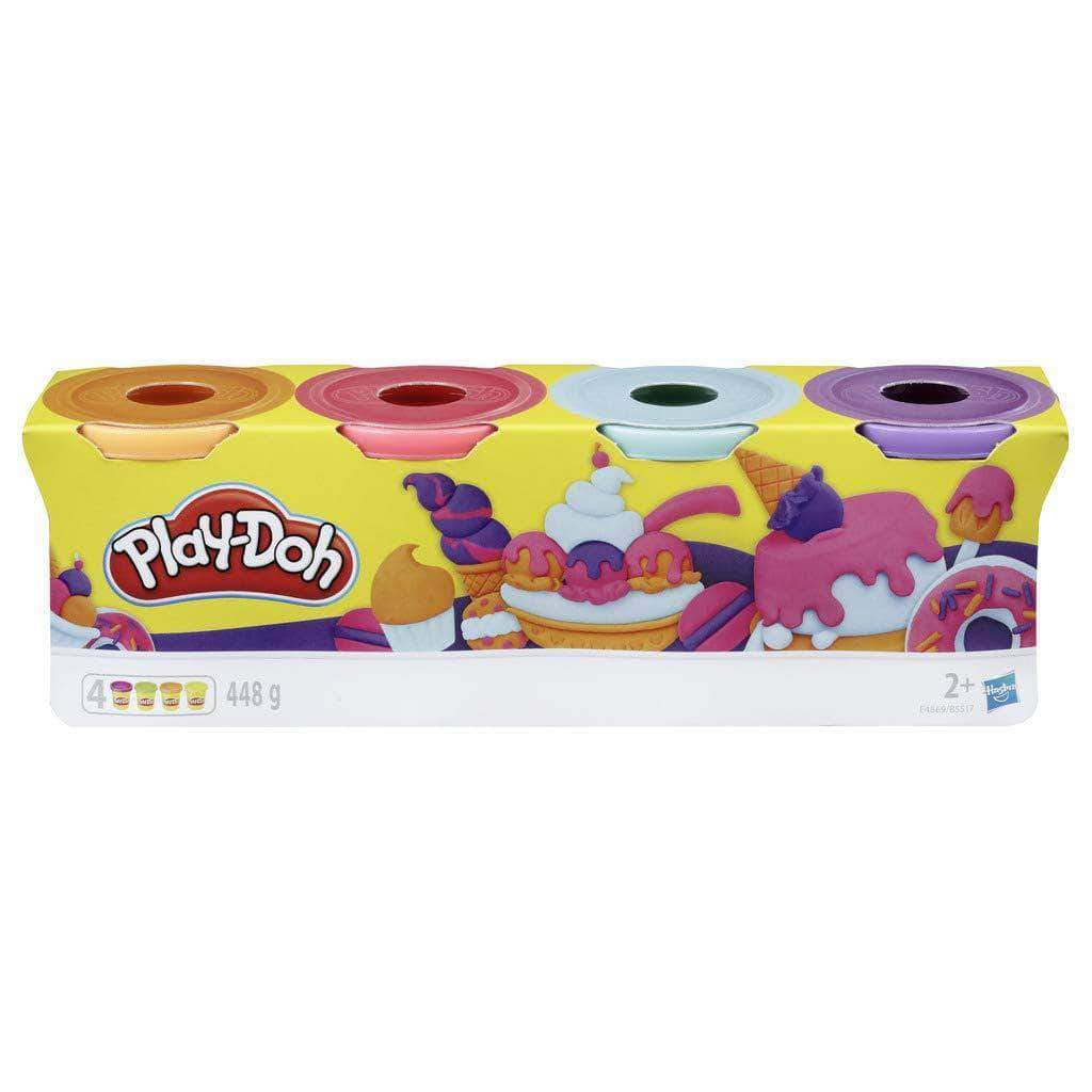 Amazon Play-Doh-Pack 4 Colores Dulces, (Hasbro E4869ES0)