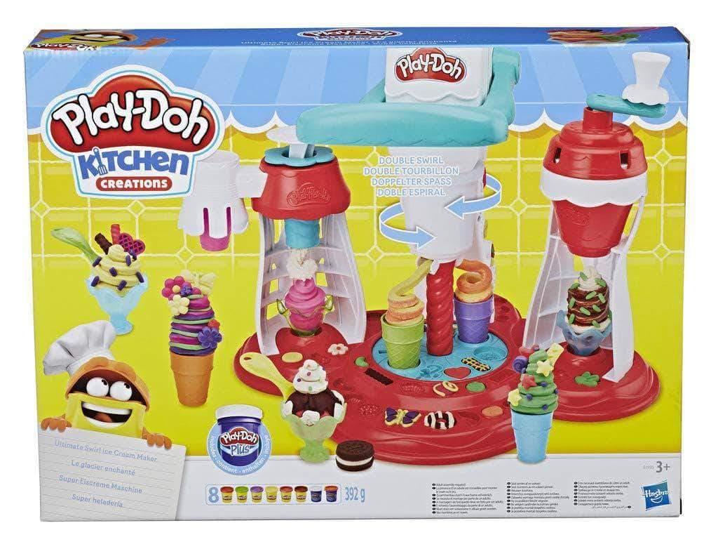 Amazon Play-Doh Super Heladeria  (Hasbro E1935EU6)