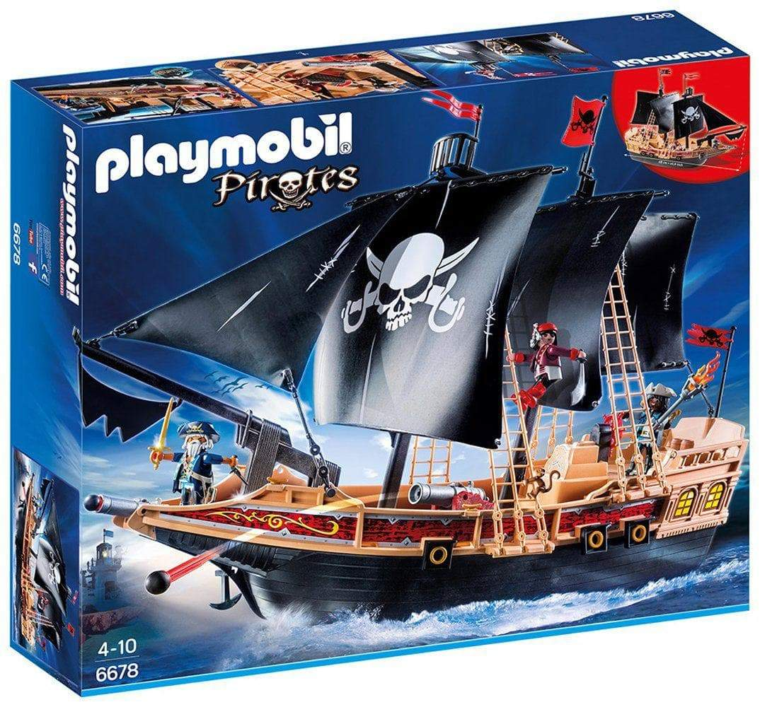 Amazon Playmobil 6678 - Buque corsario