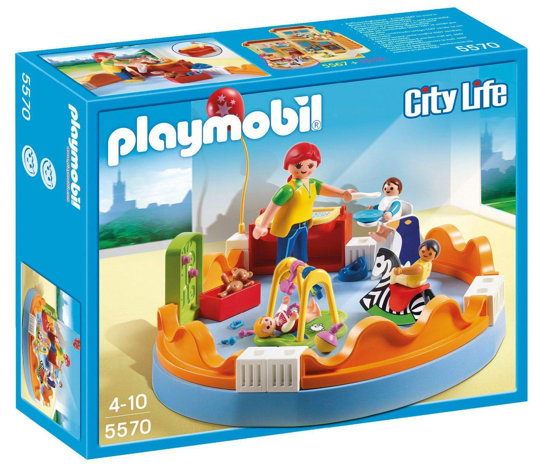 Amazon PLAYMOBIL Guardería - Zona de bebés, playset (5570)