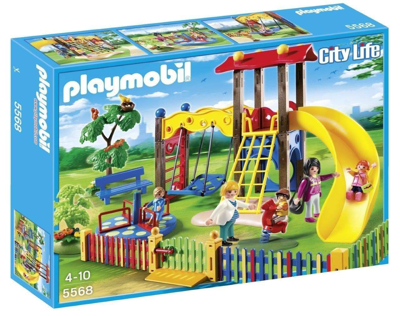 Amazon PLAYMOBIL Guardería - Zona de Juegos Infantil, playset (5568)