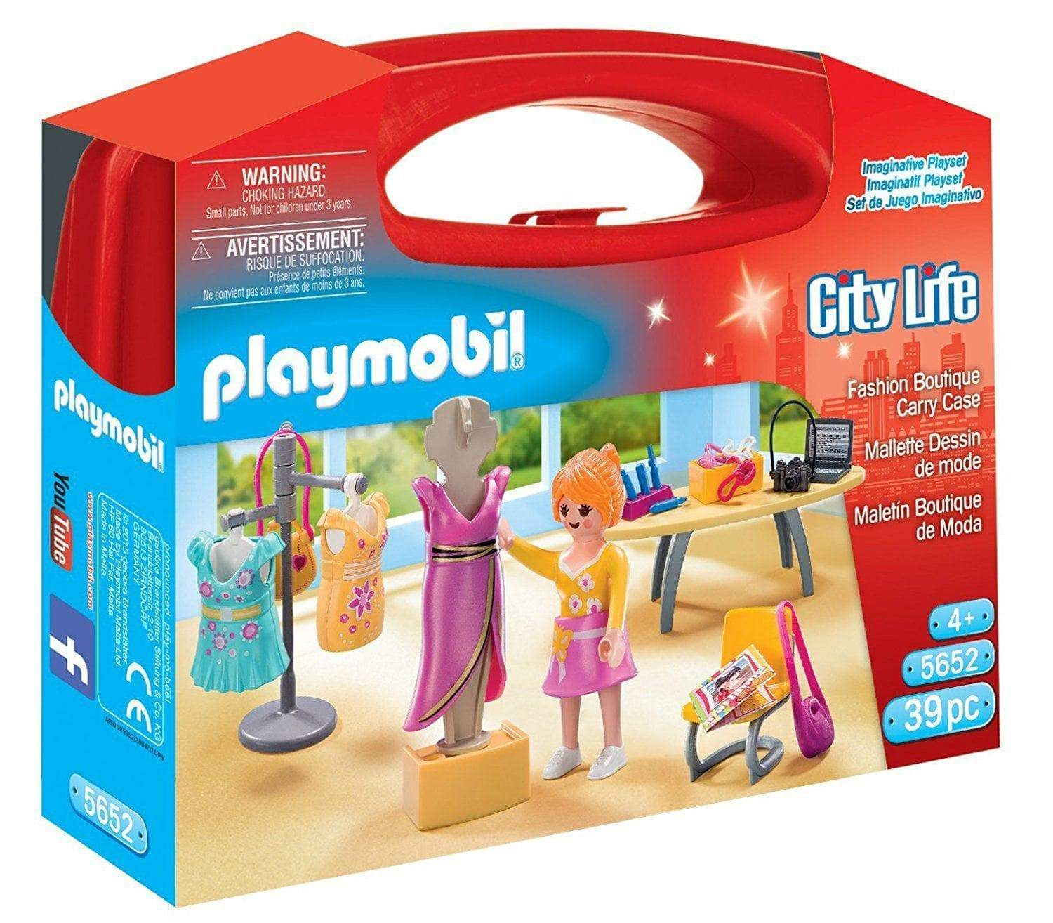 Amazon Playmobil Maletín Moda 5652