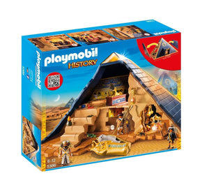 Amazon Playmobil Pirámide del Faraón 5386