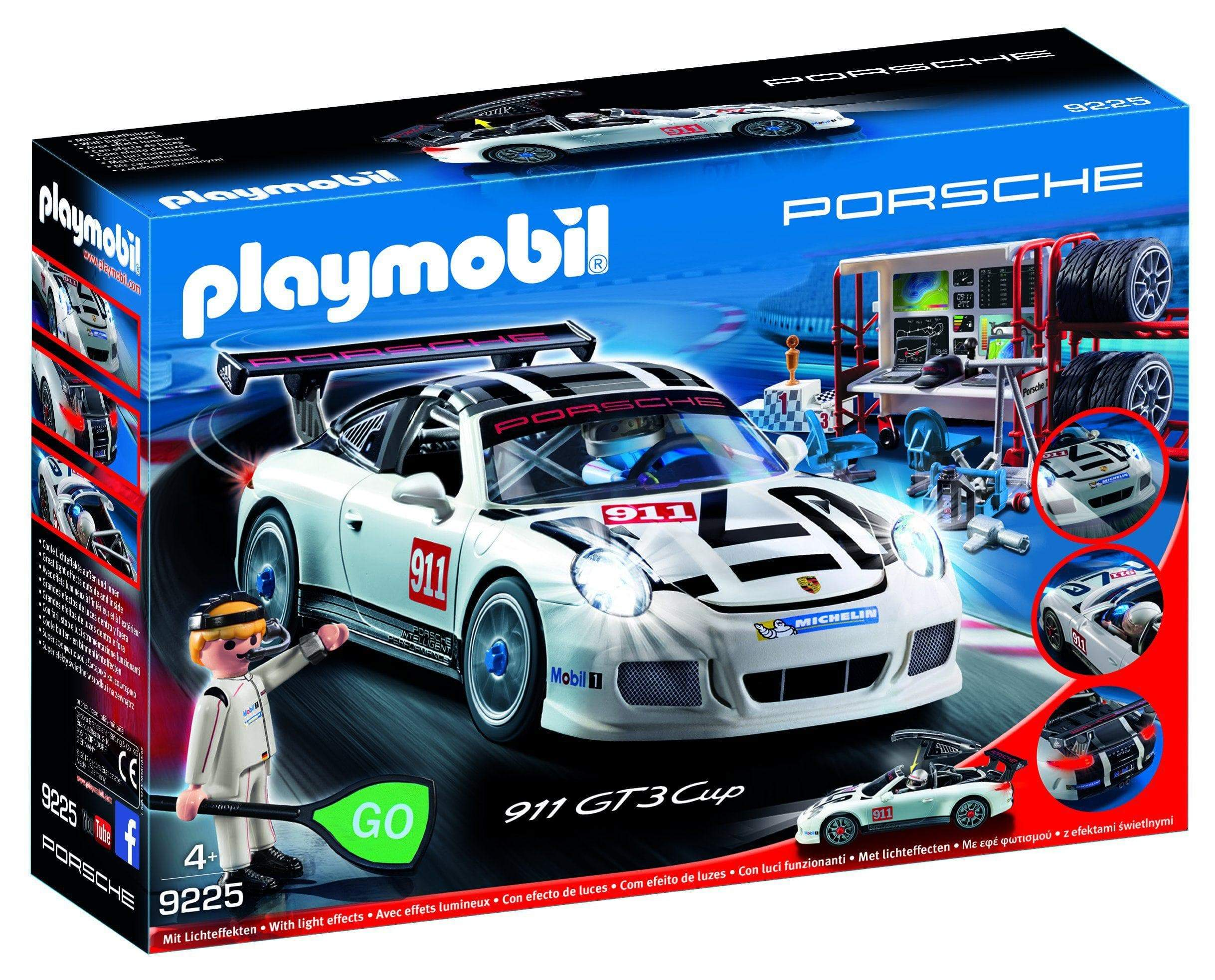 Amazon Playmobil Porsche 911 GT3 Cup 9225