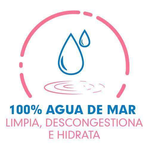 Amazon Rhinomer Baby - Spray nasal 100% agua de mar de origen natural, fuerza extra suave, para bebés - 115 ml
