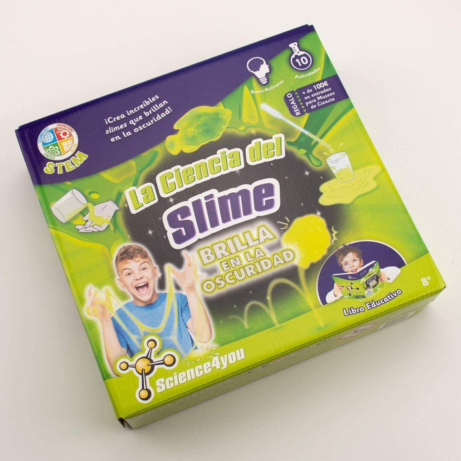 Amazon Science4you - La Ciencia del Slime - Brilla en la Oscuridad (609518)
