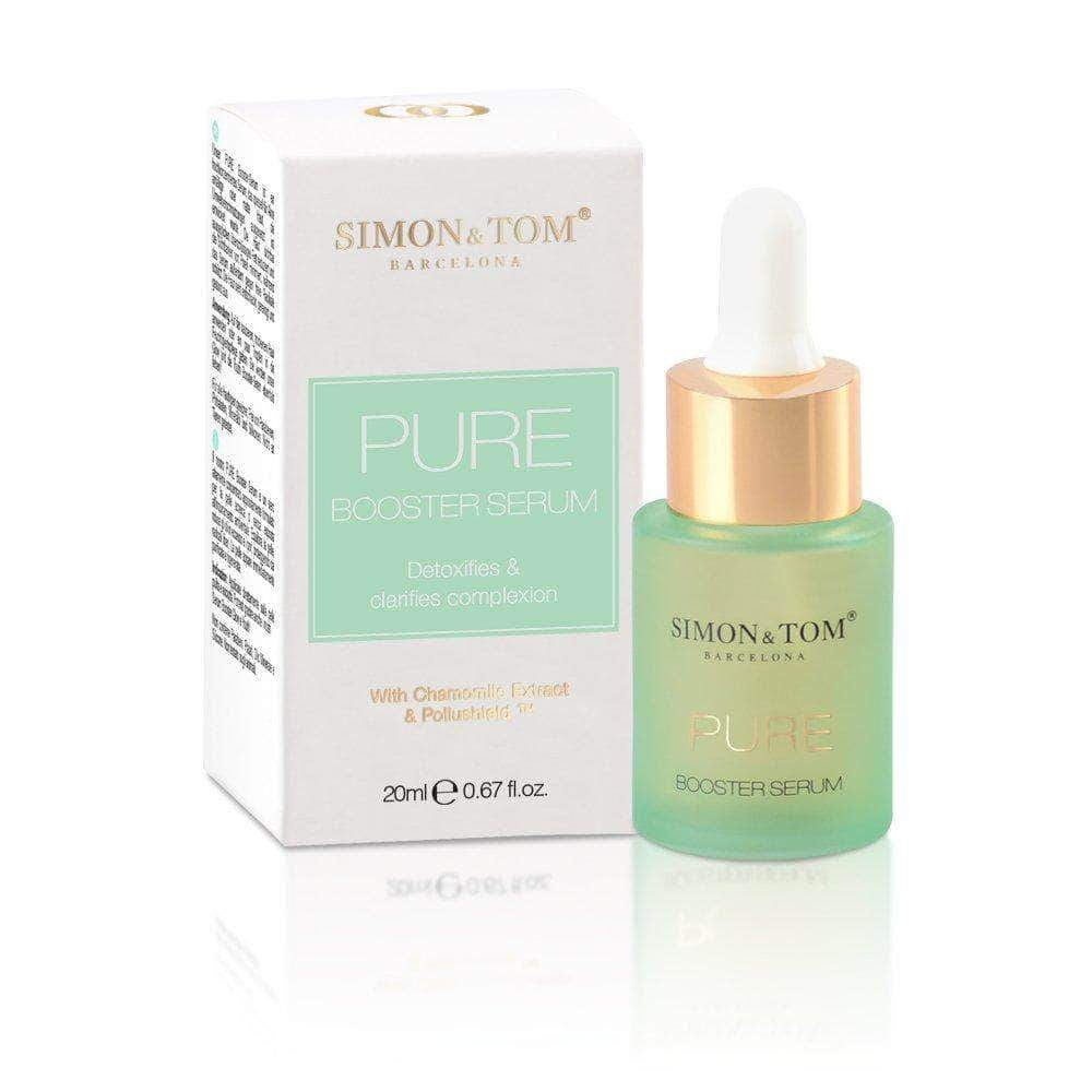 Amazon Simon & Tom - Sérum Facial Purifica y Oxigena la piel, Efecto DETOX 20ml (PURE Booster)