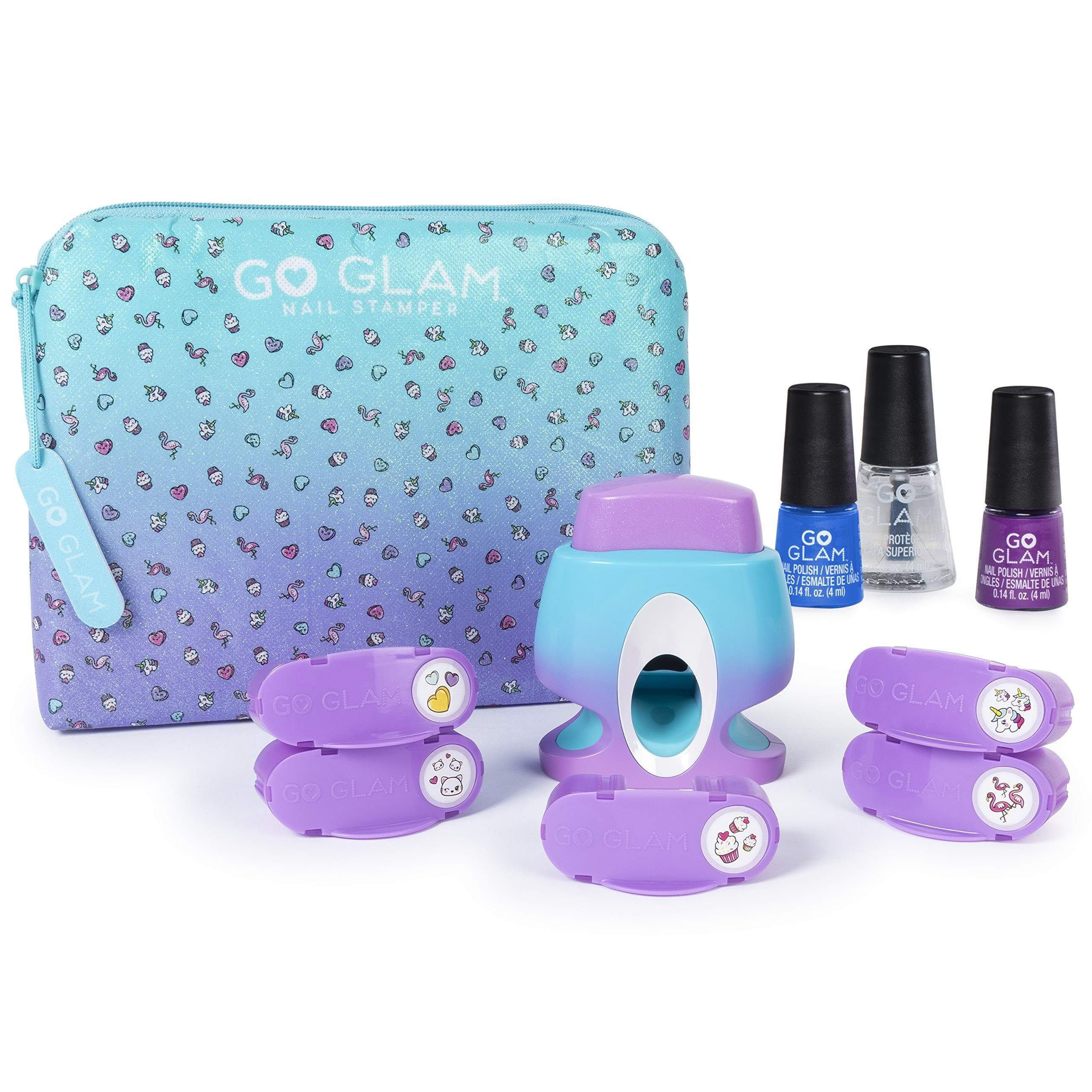 Amazon Spin Master Cool Maker GoGlam Nail Studio - Maquillaje de Juguete (Nail Polish Set, Multicolor, Femenino, 8 año(s), China, 330 g)