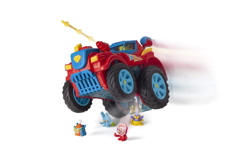 Image of Amazon SuperZings- PlaySet Heroe Truck Vehículos y figuras especiales (Magic Box PSZSP112IN20)