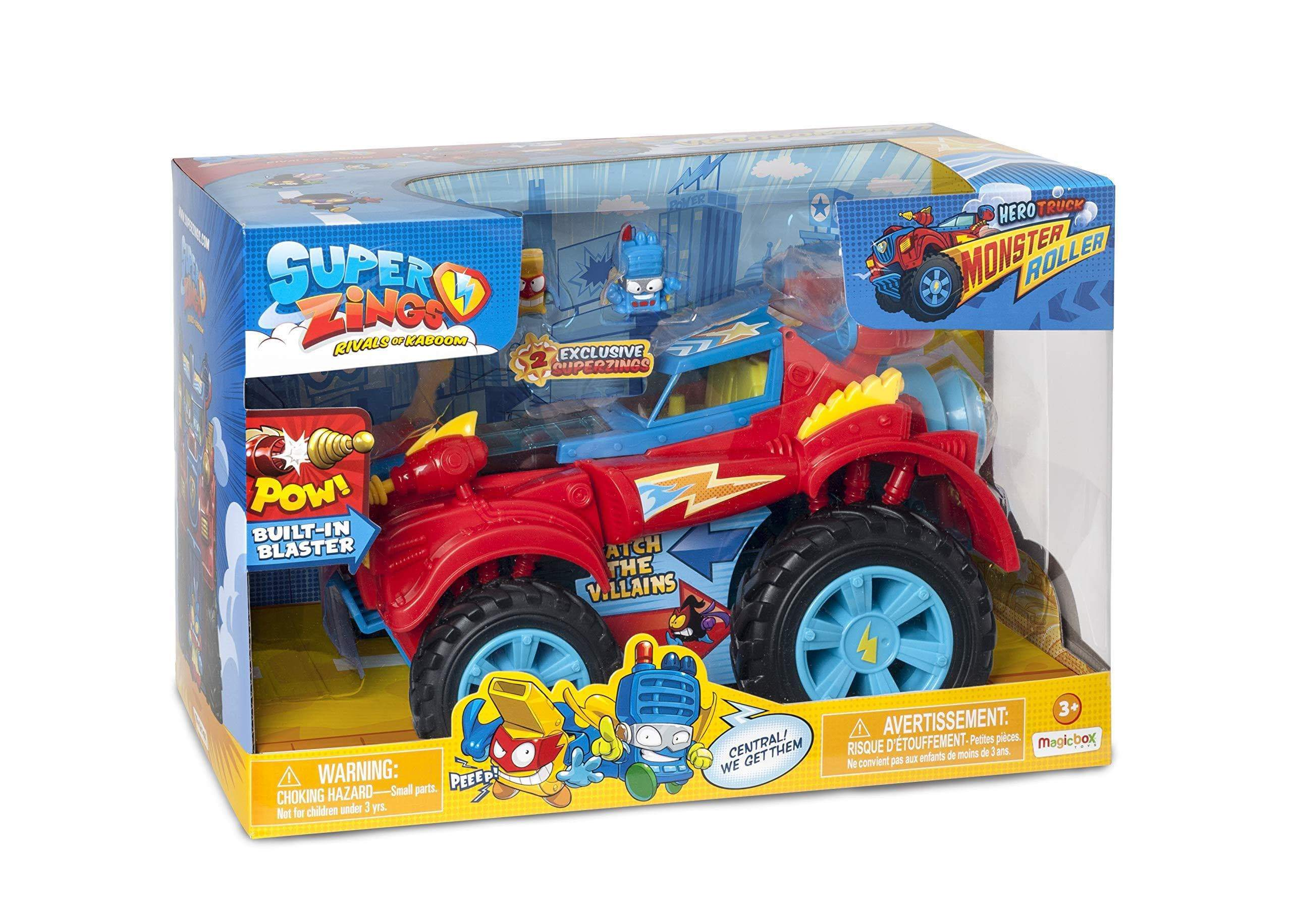 Amazon SuperZings- PlaySet Heroe Truck Vehículos y figuras especiales (Magic Box PSZSP112IN20)