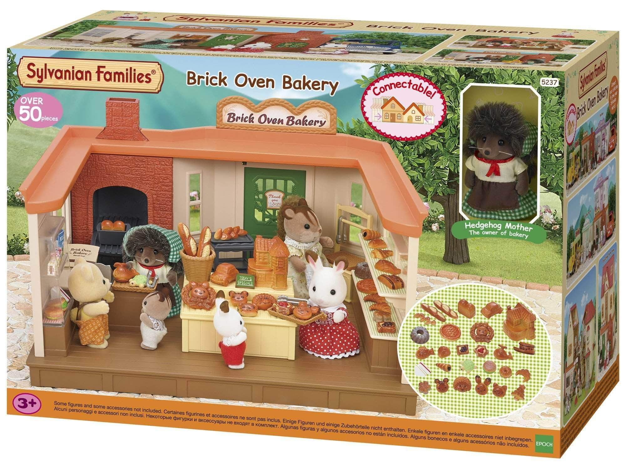 Amazon SYLVANIAN FAMILIES- Brick Oven Bakery Mini Muñecas y Accesorios, Multicolor (Epoch para Imaginar 5237)