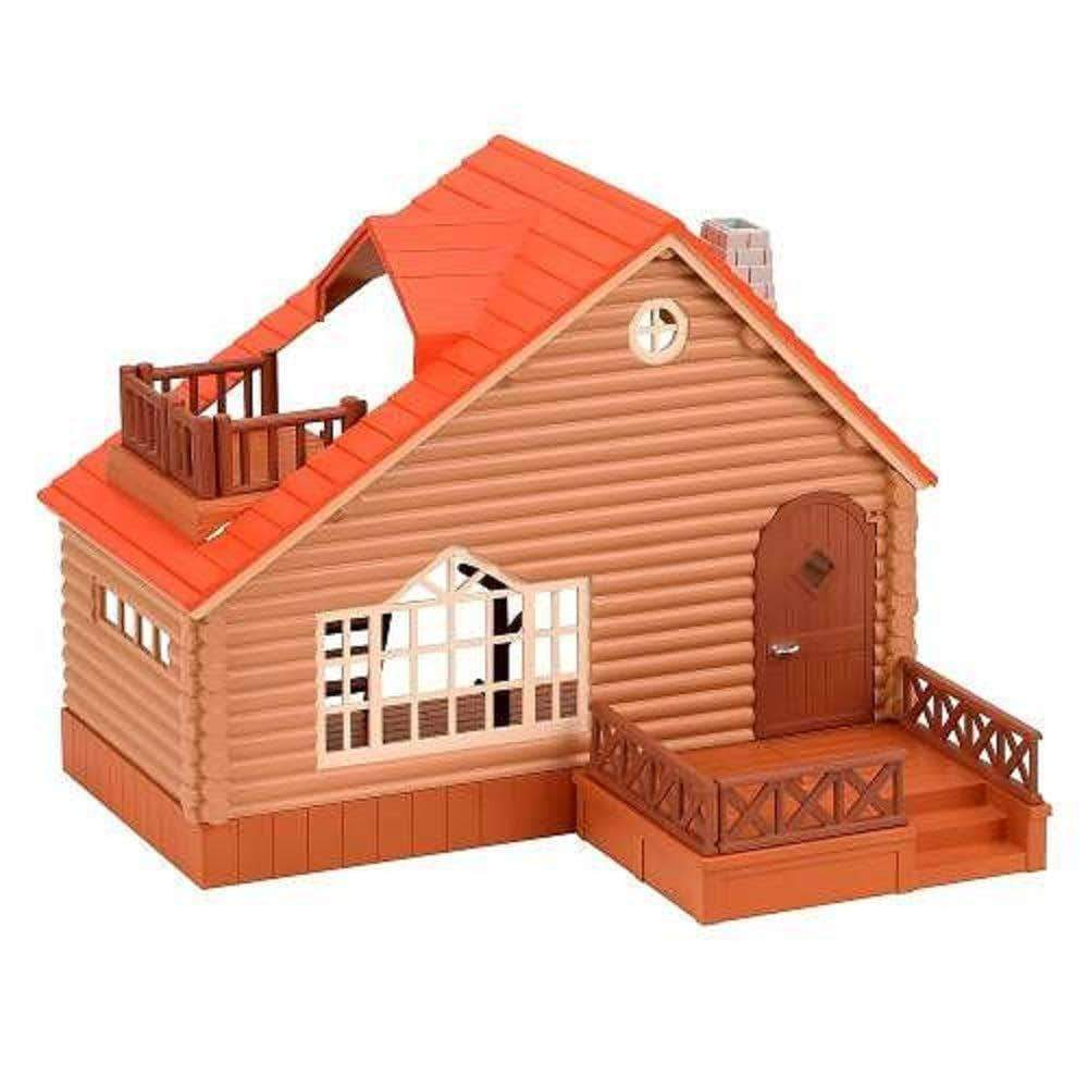 Amazon SYLVANIAN FAMILIES- Log Cabin Mini muñecas y Accesorios, (Epoch para Imaginar 4370)