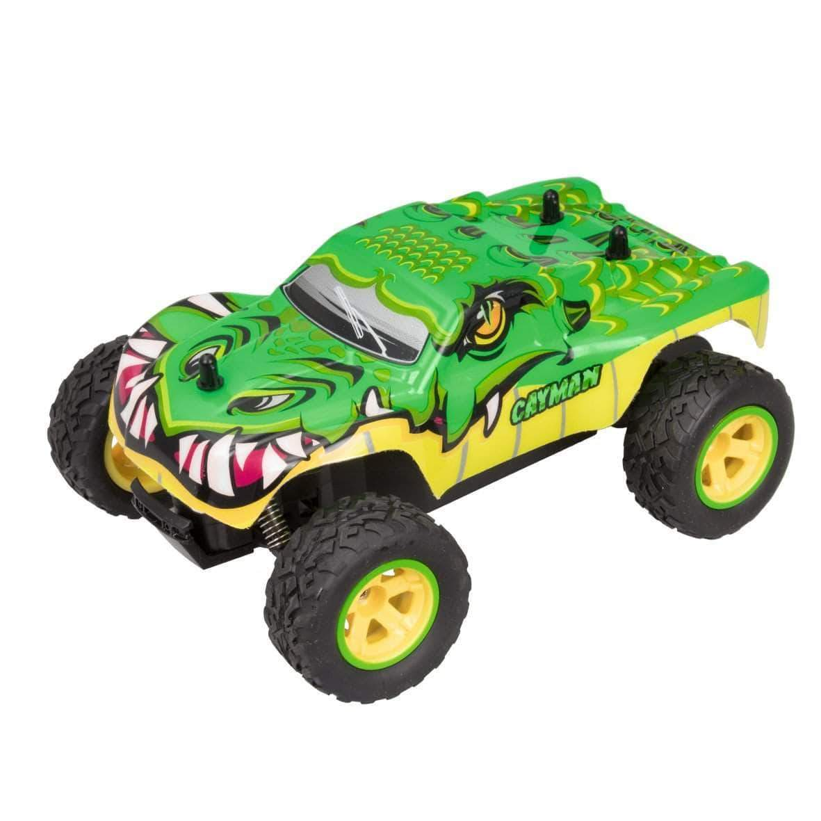 Amazon Xtrem Raiders Cayman, Todoterreno 4x4, teledirigidos para niños, Coches RC, radiocontrol (World Brands XT180767)