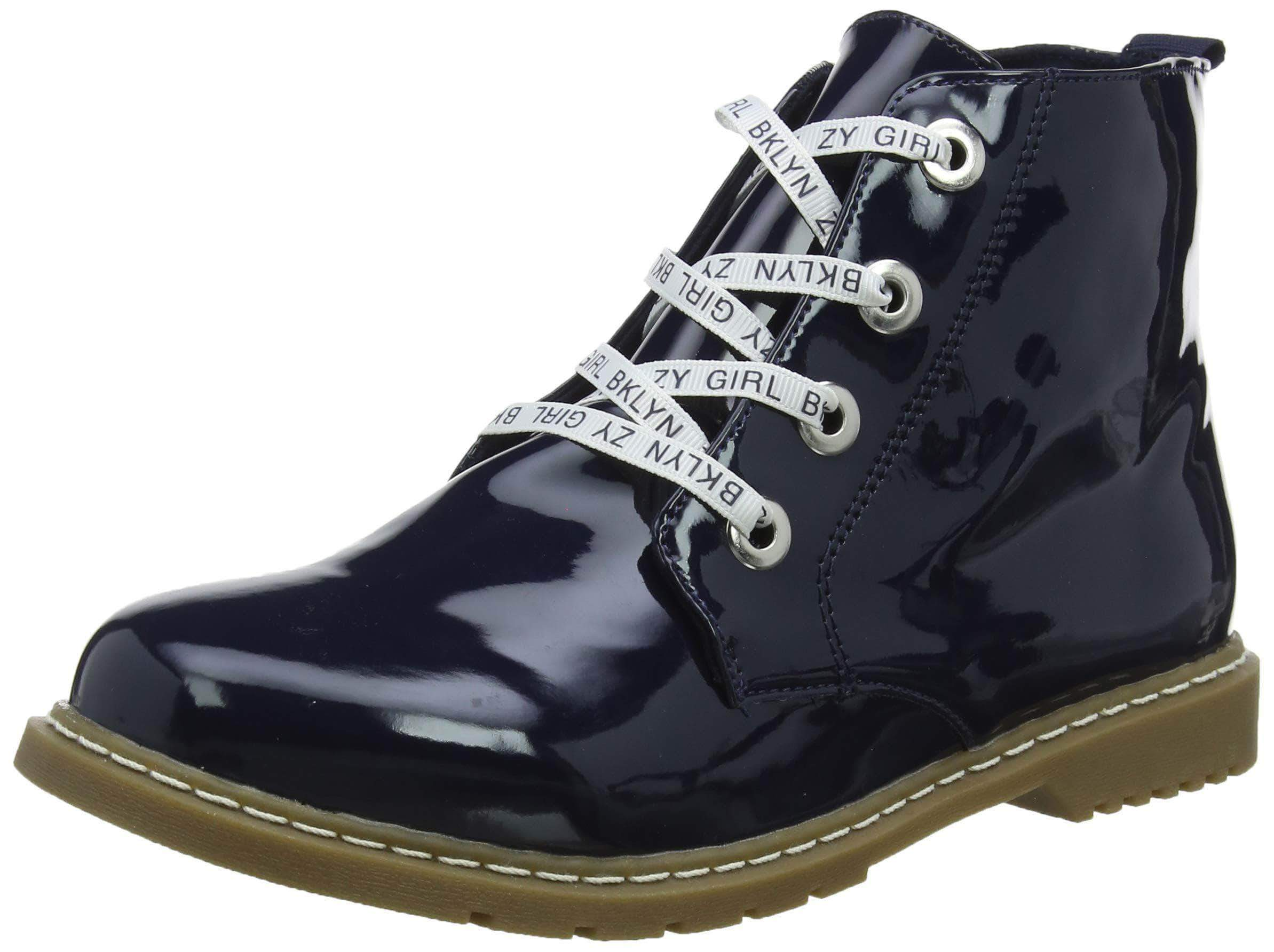 Amazon Zippy Botas Slouch ZY 2, Niñas, Azul (Dress Blue 19-4024 TC 185), 28 EU